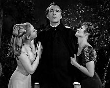 "Veronica Carlson / Christopher Lee Hammer Films 10"" x 8"" Photograph 2"