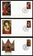 1978 CANADA CHRISTMAS VIRGIN & CHILD FIRST DAY OF ISSUE. Three envelopes (BI#40)