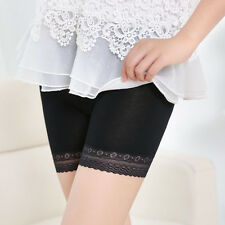 Women Lace Tiered Skirts Seamless Underwear Safety Pants Dancing Sport Shorts N1