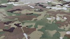 "MULTICAM CAMO FABRIC 62""W NYLON TASLIN APPAREL MIL SPEC DWR MILITARY WATERPROOF"