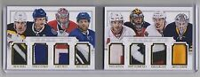 Carey Price/Steven Stamkos/ Datsyuk/Karlsson 13-14 National Treasures PATCH /5