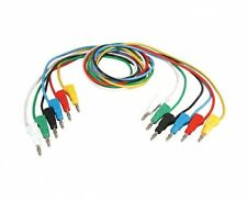 TL-118 KIT  Assorted Color 6 Test Lead Set,Stacking Banana Plugs