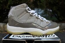 "2001 DS NIKE AIR JORDAN RETRO 11 XI ""COOL GREY"" 9 136046 011 DB BIN DON CONCORDS"