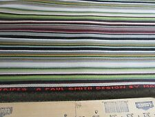 "1 & 1/2 yds MAHARAM PAUL SMITH UPHOLSTERY FABRIC ""STRIPES"""