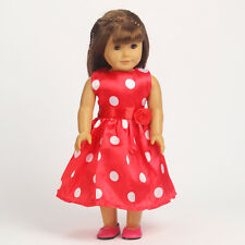 BEST gift Handmade fashion clothes dress for 18inch American girl doll b54