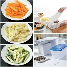CHOPPER * POTATO CARROT PEPPER CUCUMBER CHEESE DICER CUTTER BOX CHIPS STICKS