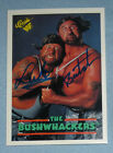 The Bushwhackers Luke & Butch Signed 1990 WWF Classic Card 148 WWE HOF Autograph
