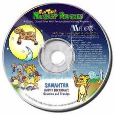 Personalized Nursery Rhyme Sing Along  Children's 'Music CD