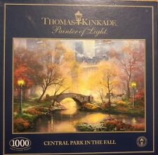 Puzzle 1000 PEZZI THOMAS KINKADE Central Park in autunno