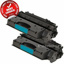 2 High Yield CE505X 05X Toner Cartridges for HP LaserJet P2055 P2055dn P2055x