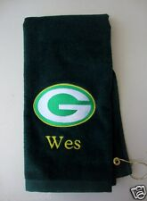 Personalized Embroidered Golf/Bowling Towel Green Bay Packers NFL