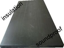 high density soundproof insulation closed cell foam 2m x 1m x 10mm