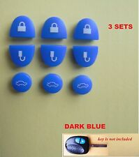 3 X SET holden commodore repair set Key Buttons BLUE for VS VT VX VY VZ WH WK