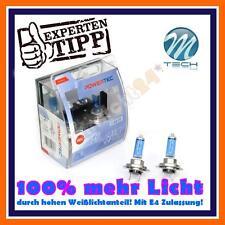 2x PowerTec H7 SUPER WHITE +100% mehr Licht! 6000k Kaltweiß echter Xenon Look!!