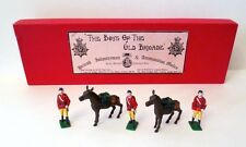 THE BOYS OF THE OLD BRIGADE Lead Toy Soldier INFANTRYMAN & MULES BOXED SET