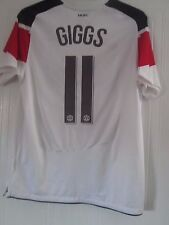Manchester United Away Giggs CL 2011-2012 Football Shirt Medium /41024