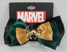 New Marvel The Avengers Loki Cosplay Hair Bow Pin Clip Costume Dress-Up