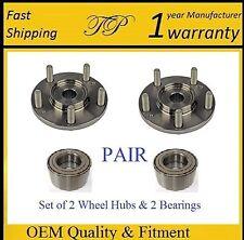 2003-2005 HONDA ELEMENT Front Wheel Hub & Bearing Kit (LX, NON-ABS) (PAIR)