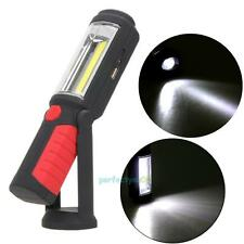 COB LED Cordless Magnetic Work Light Inspection Lamp Li-Ion Rechargeable Battery