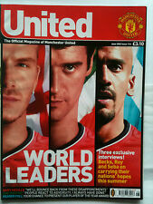 No 116 Manchester United Official Magazine June 2002