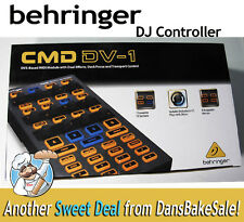 Behringer CMD DV-1 MIDI over USB DJ EDM Controller - Plug & Play New in Open Box
