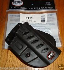 FOBUS PADDLE ELITE TATICAL HOLSTER CZ P07 DUTY PISTOL GUN CONCEAL CARRY SHOOTING
