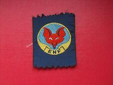 N°34 insigne écusson scout scoutisme louveteau éclaireur scouting wolf ENF