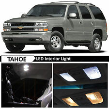 20x White LED Lights Interior Package Kit for 2000-2006 Chevy Tahoe + TOOL