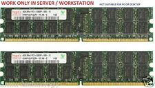 8GB (2x4GB) de memoria RAM DDR2-667 PC2-5300 ECC registrada 4 Dell PowerEdge T300 B49