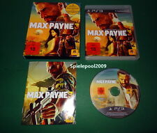 Max Payne 3 USK 18 fuer Sony Playstation 3 PS3 KOMPLETT im Pappschuber