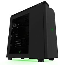 NZXT H440 2015 SPECIAL EDITION ATX GAMING USB 3.0 BLACK GREEN PC CASE - WINDOWED