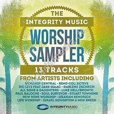 CD: THE INTEGRY WORSHIP SAMPLER - Worship - englischerLobpreis - *NEU*