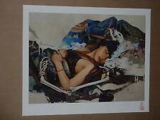 Soey Milk Love Will Linger Like Poison in the Veins signed art print poster