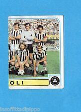 PANINI CALCIATORI 1980/81-Figurina n.21- SQUADRA DX - ASCOLI -Recuperata