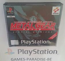 PLAYSTATION PS1 - METAL GEAR SOLID SPECIAL MISSIONS ( COMPLETE / CIB )