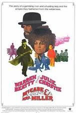 MCCABE AND MRS. MILLER Movie POSTER 27x40 B Warren Beatty Julie Christie William
