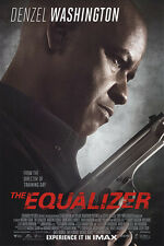 Equalizer in Imax Doublel Sided Orig Movie Poster 27x40