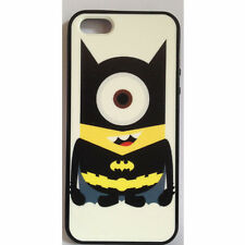 Despicable Me Batman Minion Printed Case for iPhone 5/5s PC & TPU iPhone 5s
