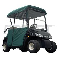 2 Passenger Enclosure for EZGO RXV Golf Carts in Green   PF11351