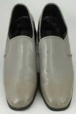 MEN'S U.S. SHOE SIZE-10 M GRAY SLIP ON SHOES by Johnsonian Formal Wear Used