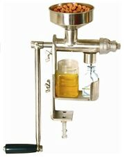 Manual Oil Press Machine Expeller Extractor Stainless Steel # 304 High Quality