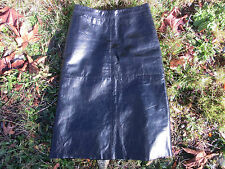 100% Genuine Leather Pencil Skirt by GAP.