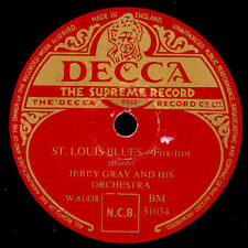 JERRY GRAY & HIS ORCH. St. Louis Blues / Jeep Jockey Jump      Schellack  X1866