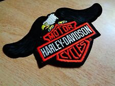 Harley Davidson Motorcycle Patch Classic American Eagle HD Vest Jacket Badge