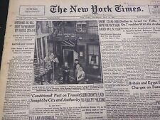 1953 MAY 14 NEW YORK TIMES - SLUM GROWTH LAID TO FAULTY POLICING - NT 4465