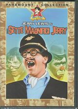 I 7 SETTE MAGNIFICI JERRY (1965) JERRY LEWIS - DVD NUOVO!