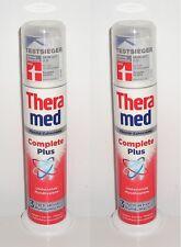 (100ml=2,45€) 2x Theramed Complete Plus 3-fach aktiver Schutz Zahncreme, 2x100ml