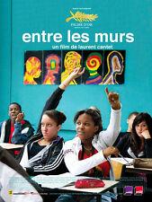 Affiche 120x160cm ENTRE LES MURS 2008 Laurent Cantet - François Bégaudeau NEUVE