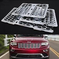Chrome Front Mesh Grill Insert For Jeep Grand Cherokee 2014 2015 2016