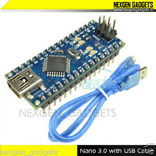 Nano 3.0 Atmega328p Board CH340G + USB cable for Arduino + Free shipping
